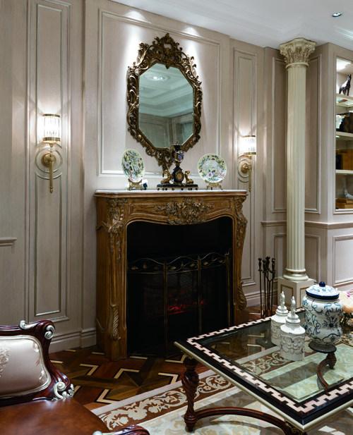 新古典风格家具欧式壁炉