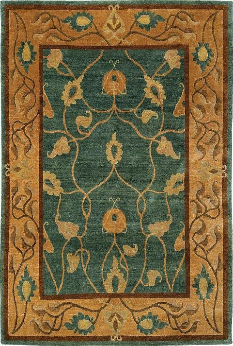 欧式花色土耳其风格地毯jpg-(图片编号:1000084617)