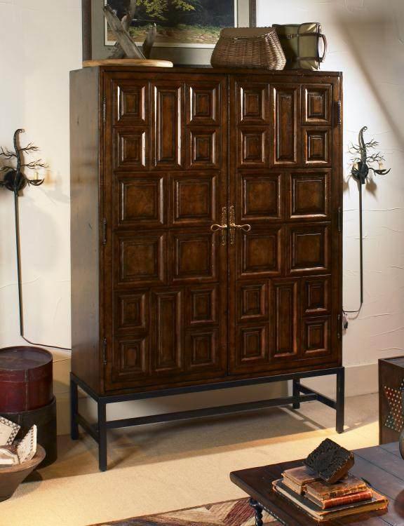 美式家具美式做旧乡村田园风格衣柜图片