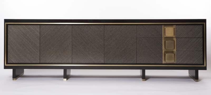 软装素材 美式家具 电视柜 现代简约美式家具新中式风格电视柜边柜