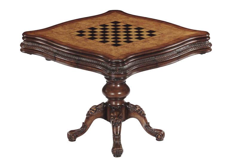 经典美式家具美式棋牌桌