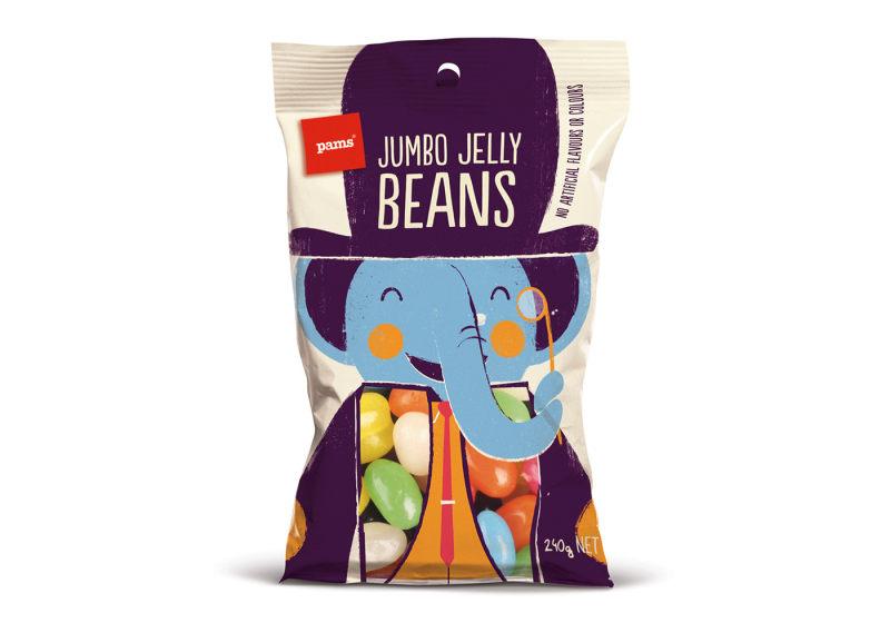 零食包装袋设计图片