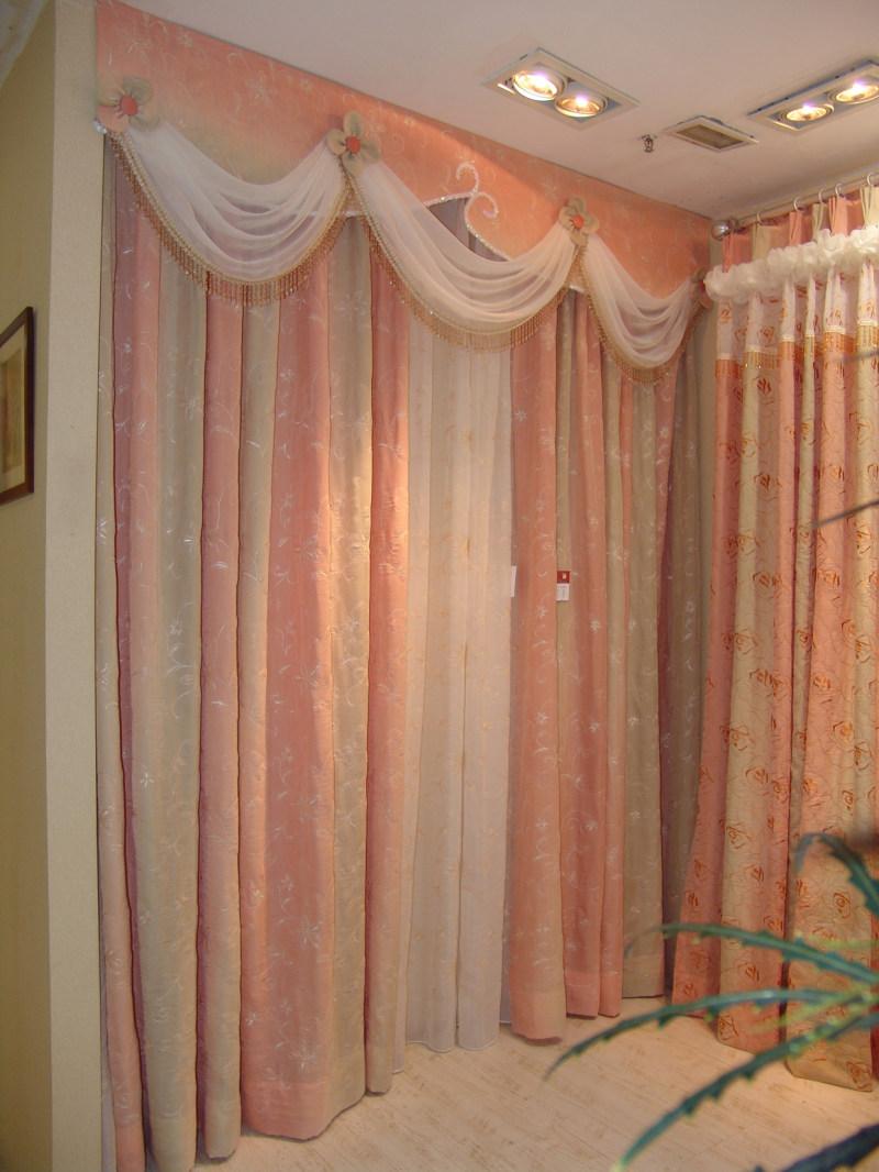 欧式风格窗帘样式