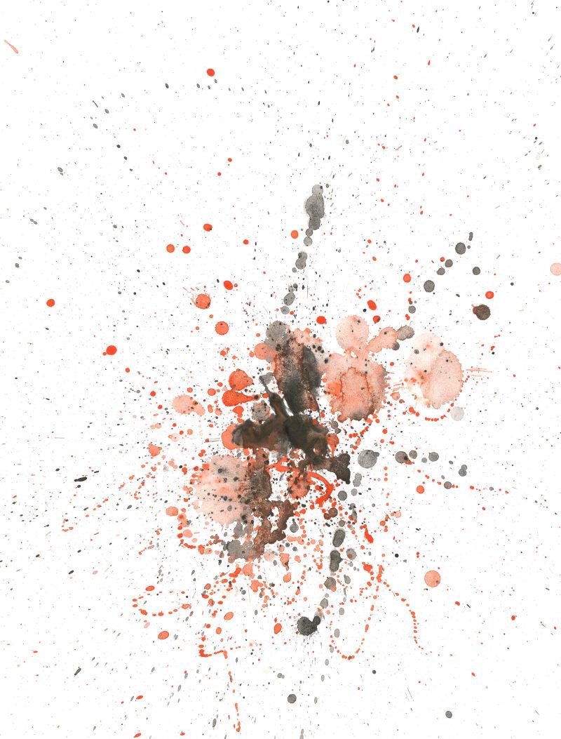 平面/广告 图形图案纹样 笔刷素材 水彩泼墨图片