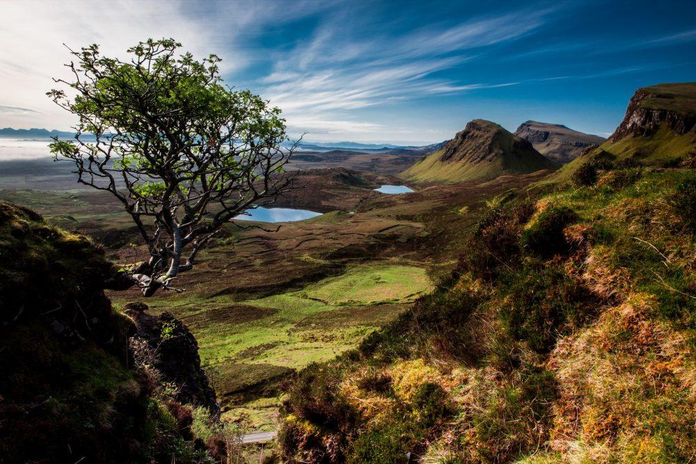 山野与天空 高清自然风景背景摄影图 壁纸