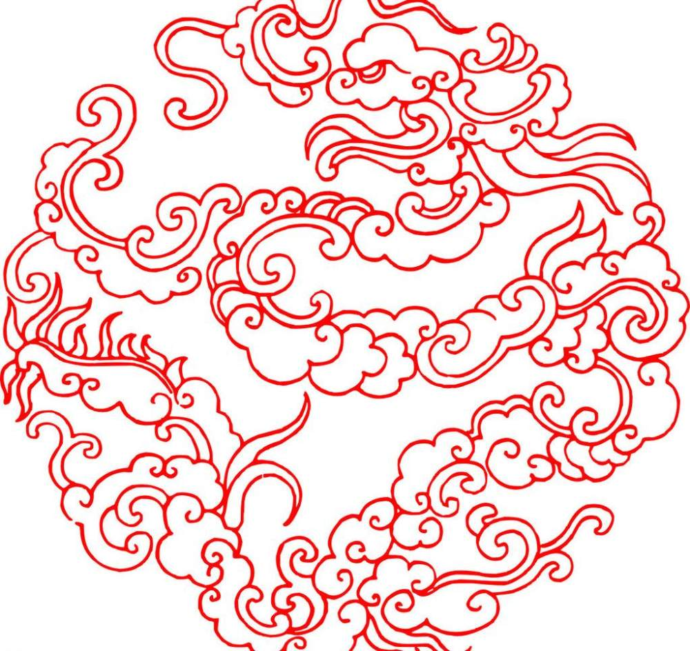 平面/广告 图形图案纹样 图案素材 祥云瑞气传统图案花纹cdr格式