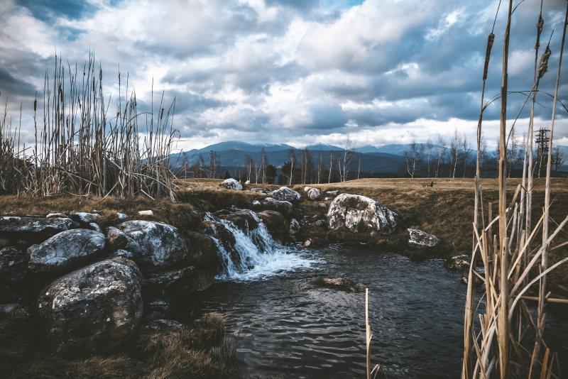 荒野和天空 高清自然风景背景摄影图 壁纸  风景背景高清背景素材高清