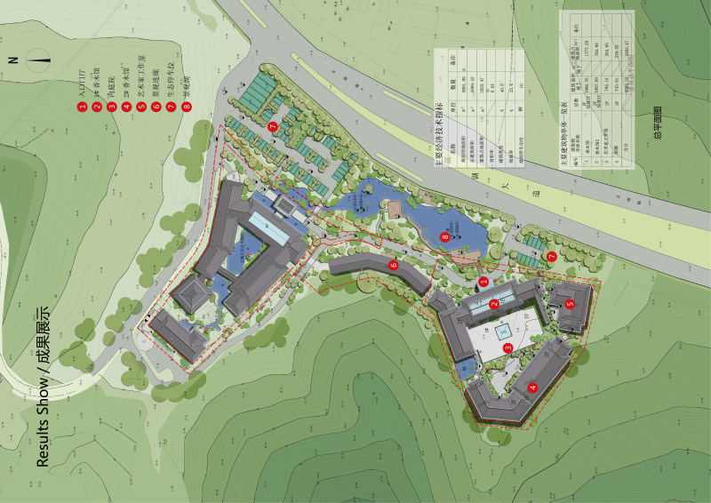 中国美术学院风景建筑设计研究院-赵良毅团队 湖州古木博物馆建筑方案