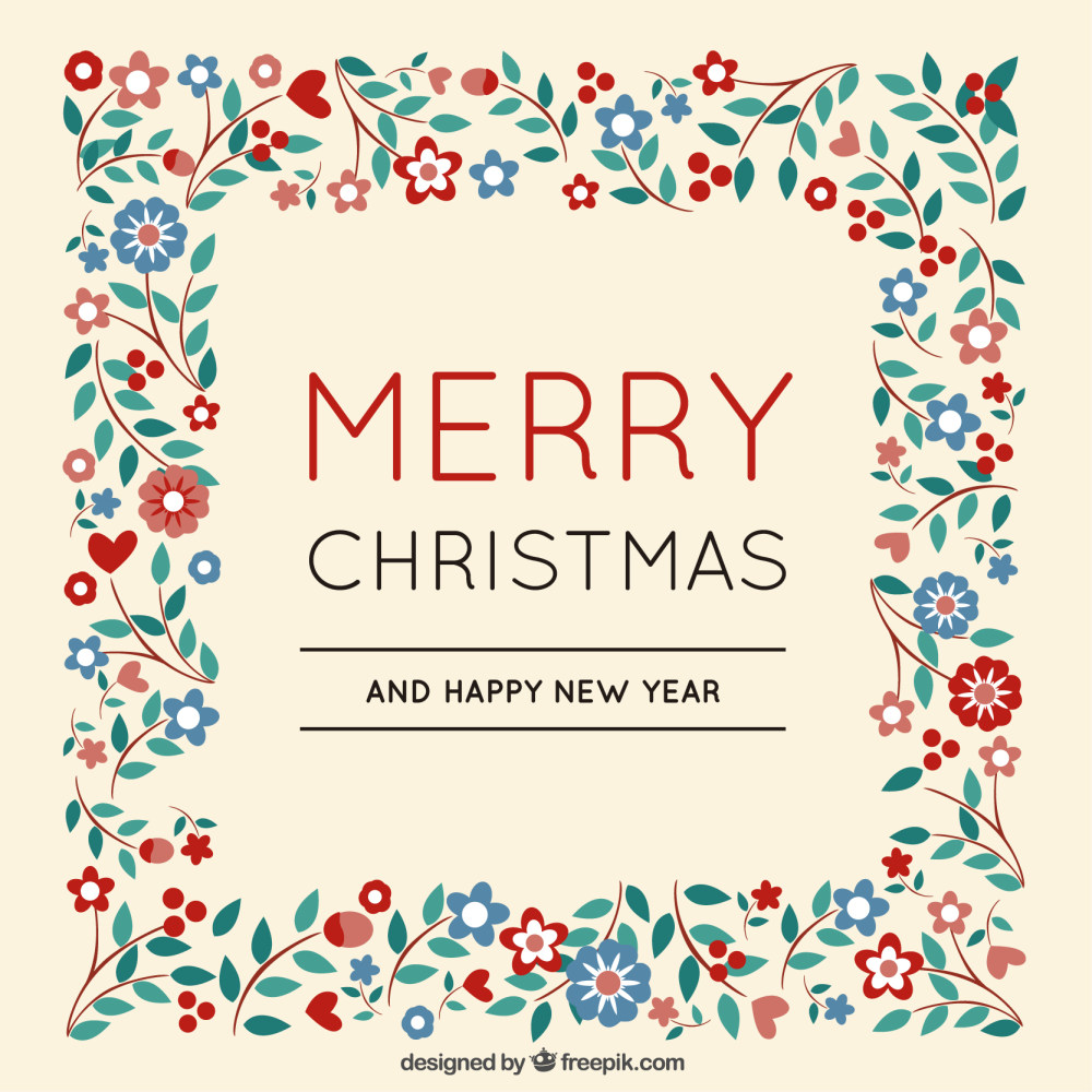 圣诞节花纹图案背景底纹ai矢量素材