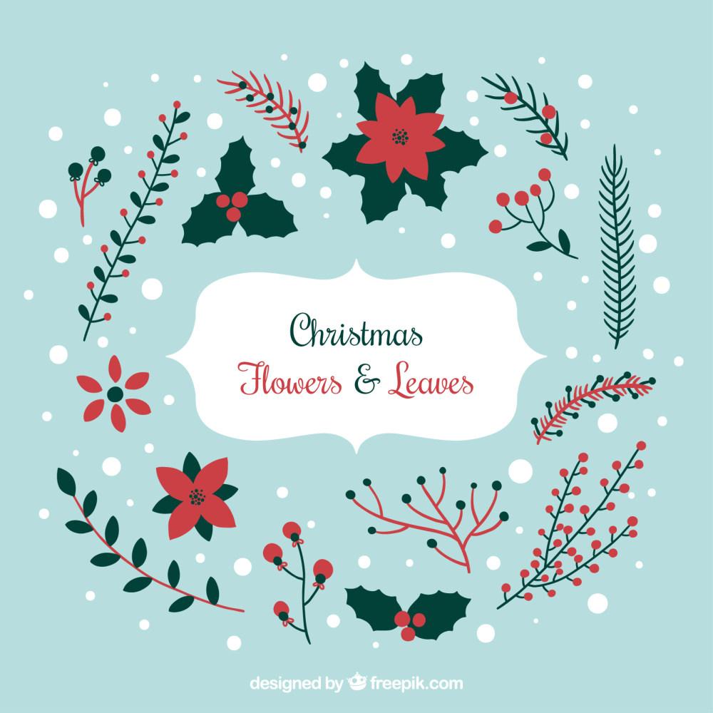 精美圣诞节图案设计eps矢量素材