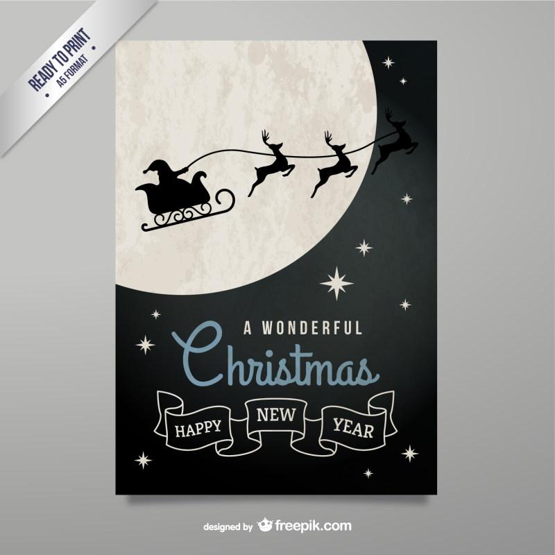 圣诞节创意精美节日海报设计eps矢量素材